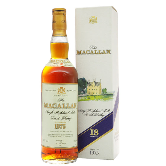 Macallan 1975 18 Years - The Whisky Shop Singapore