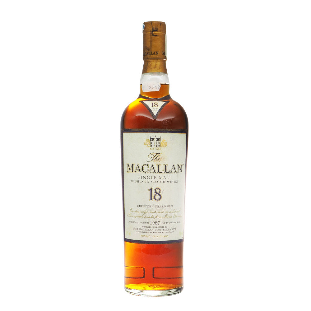 Macallan 1987 18 Years - The Whisky Shop Singapore