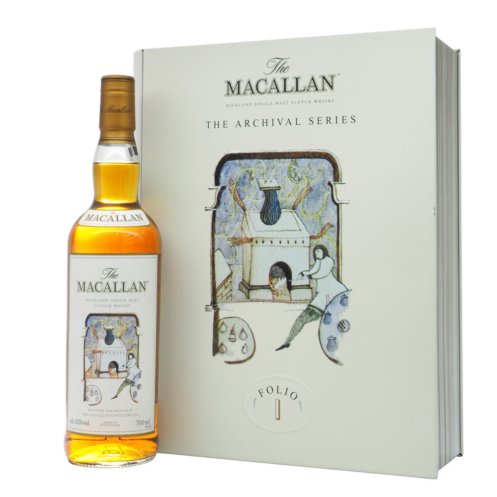 Macallan The Archival Series Folio 1 - The Whisky Shop Singapore