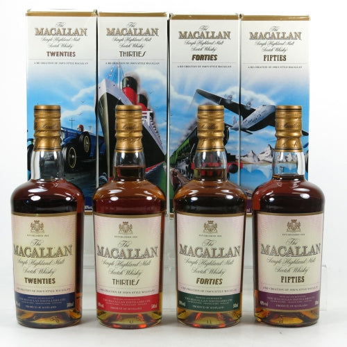 Macallan Decades Collection Set - The Whisky Shop Singapore