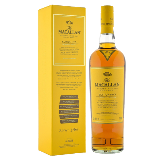 Macallan Edition No. 3 with Free Jim Murray Whisky Bible