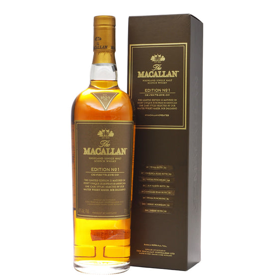 Macallan Edition No. 1 - The Whisky Shop Singapore