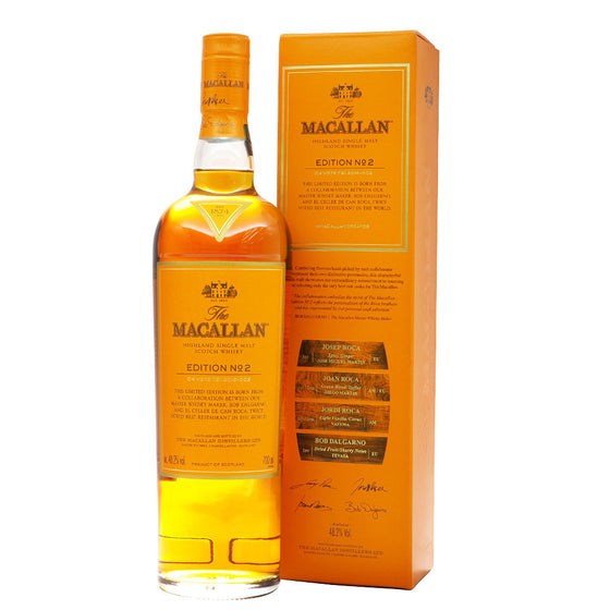 Macallan Edition No. 2 - The Whisky Shop Singapore