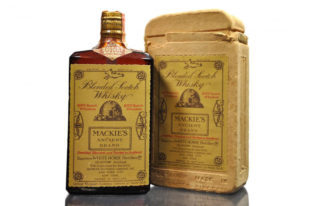 Mackie's Ancient Brand (Bot. 1940s) - The Whisky Shop Singapore
