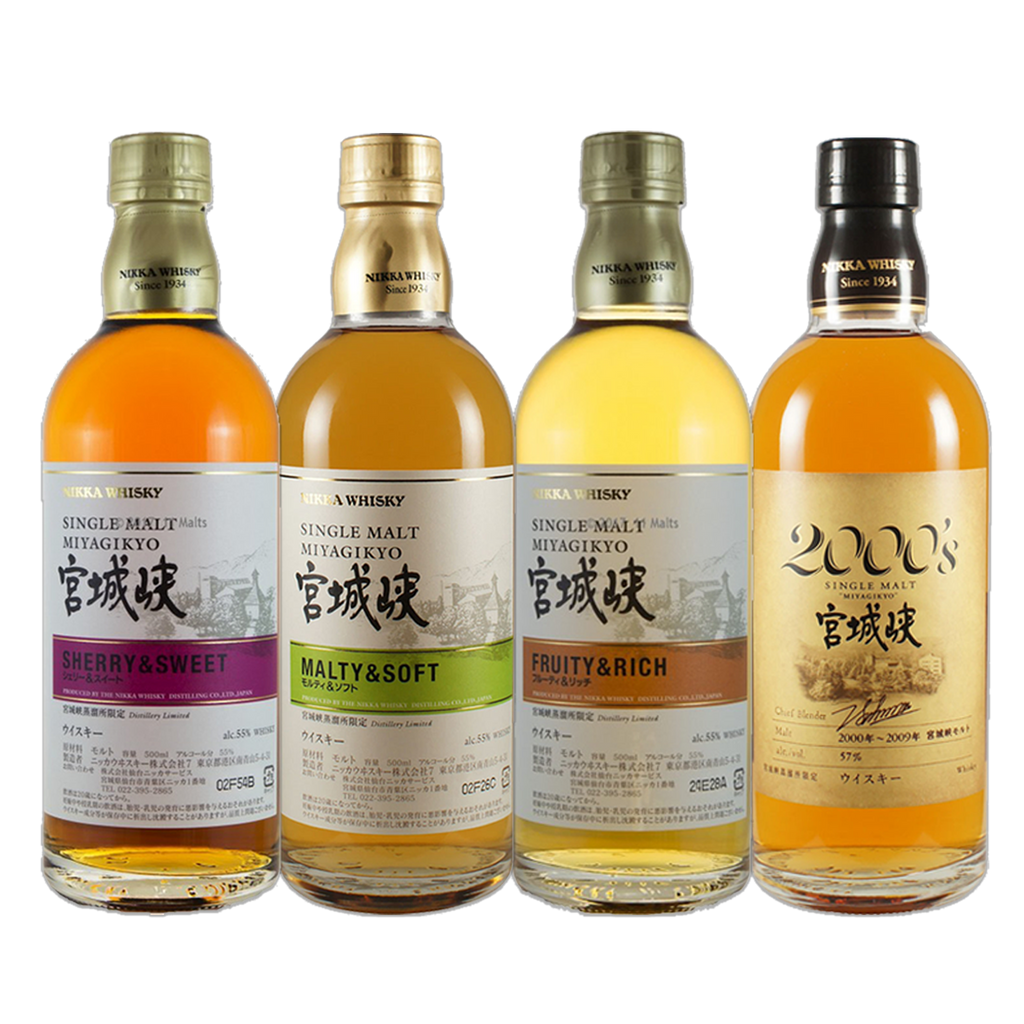 Nikka Miyagikyo - Bundle of 4 - The Whisky Shop Singapore