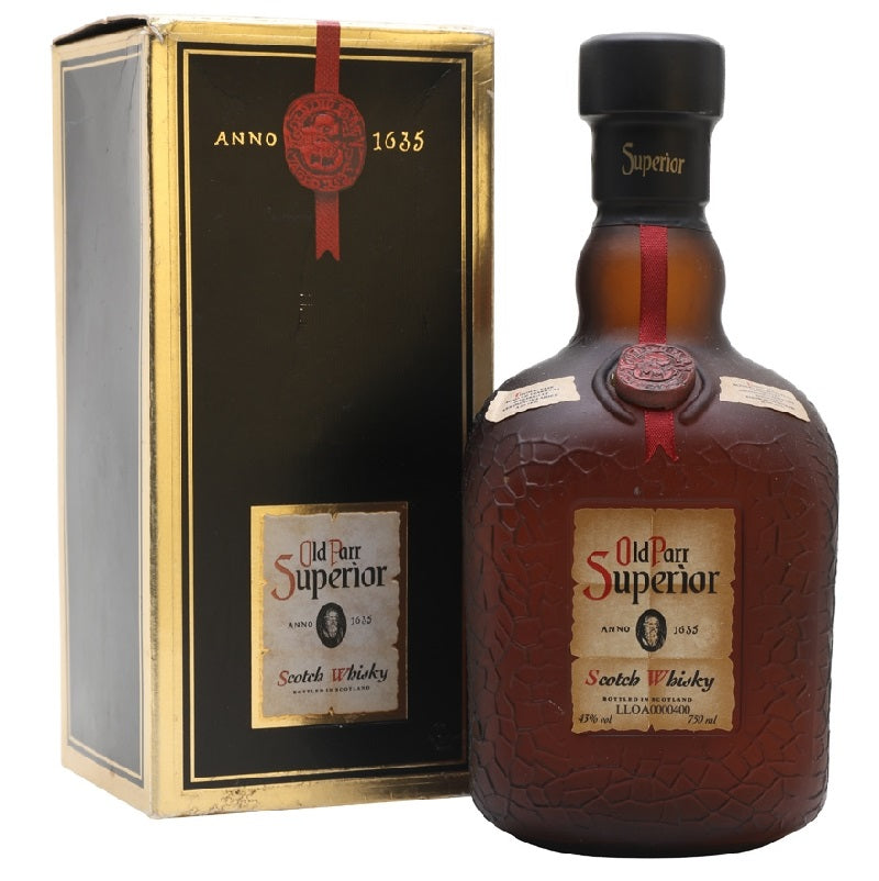 Old Parr Superior 18 Years Old Blended Scotch Whisky - The Whisky Shop Singapore