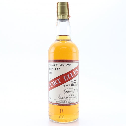 Port Ellen 1969 15 Years Gordon & MacPhail Sestante - The Whisky Shop Singapore
