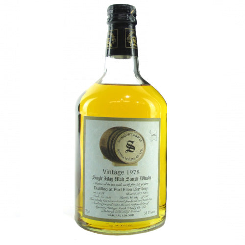 Port Ellen 1978 23 Years Signatory Vintage - The Whisky Shop Singapore