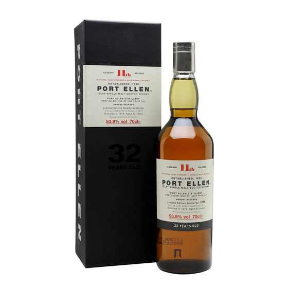 Port Ellen 11th Annual Release 1979 32 Years Old (2011) - The Whisky Shop Singapore