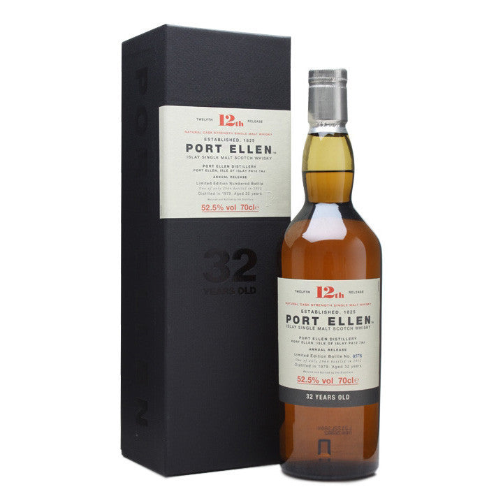 Port Ellen 12th Annual Release 1979 32 Years Old (2012) - The Whisky Shop Singapore