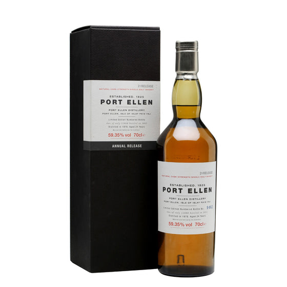 Port Ellen 2nd Annual Release 1978 24 Years Old (2002) - The Whisky Shop Singapore