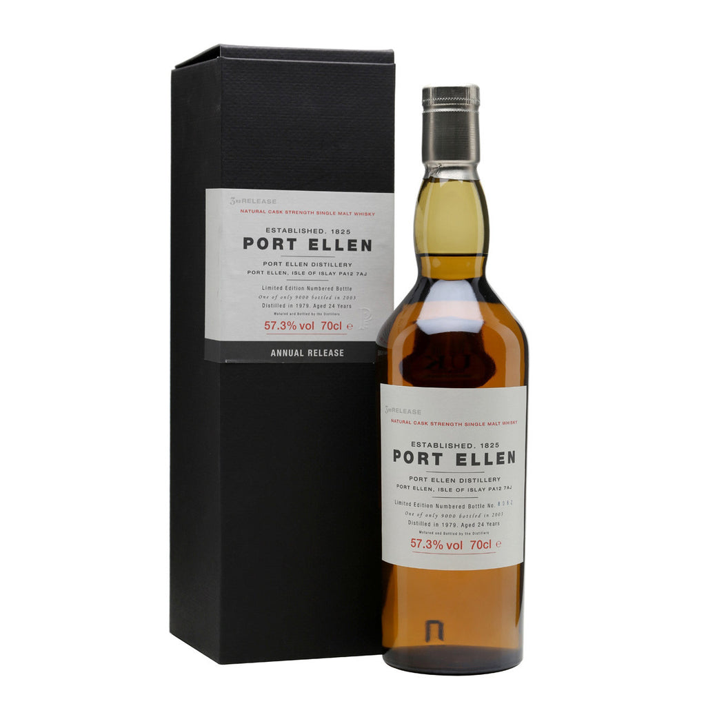 Port Ellen 3rd Annual Release 1979 24 Years Old (2003) - The Whisky Shop Singapore