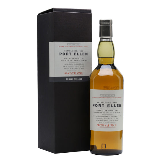 Port Ellen 4th Annual Release 1978 25 Years Old (2004) - The Whisky Shop Singapore