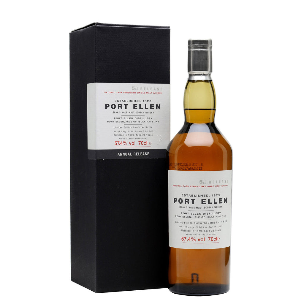 Port Ellen 5th Annual Release 1979 25 Years Old (2005) - The Whisky Shop Singapore