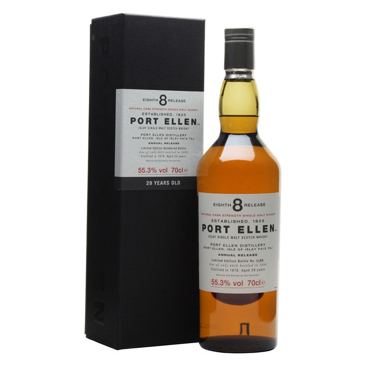 Port Ellen 8th Annual Release 1978 29 Years Old (2008) - The Whisky Shop Singapore