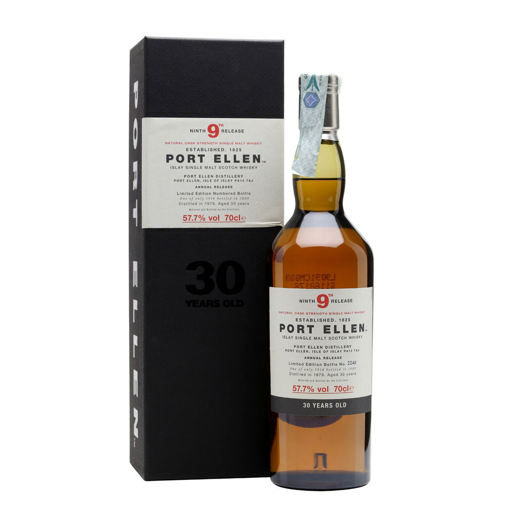 Port Ellen 9th Annual Release 1979 30 Years Old (2009) - The Whisky Shop Singapore