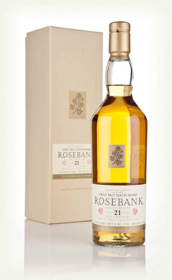Rosebank 1992 21 Years Diageo Special Release - The Whisky Shop Singapore