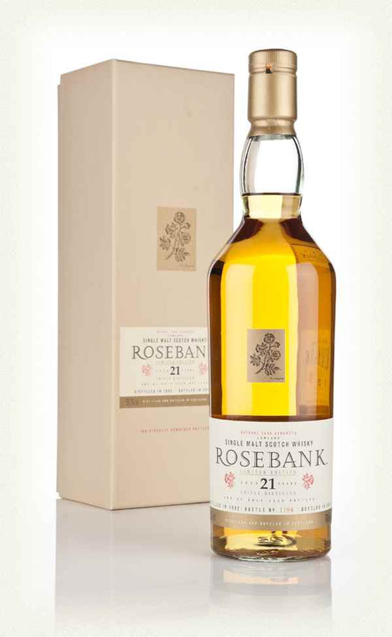 Rosebank 1992 21 Years - Diageo Special Release - The Whisky Shop Singapore