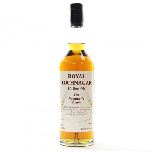 Royal Lochnagar 10 Years Old Manager's Dram 2006 - The Whisky Shop Singapore