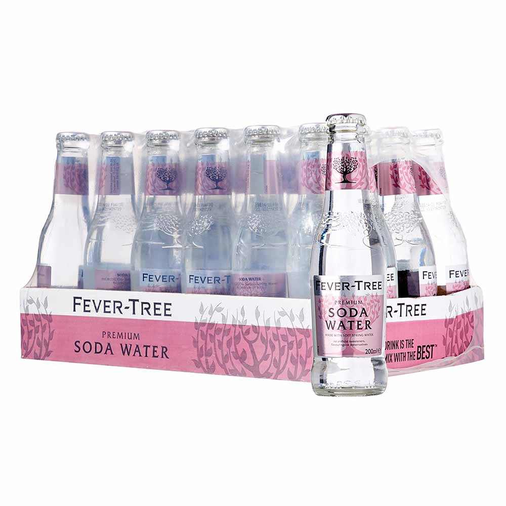 Fevertree Aromatic Tonic Water Mixer  24 x 200ml - The Whisky Shop Singapore