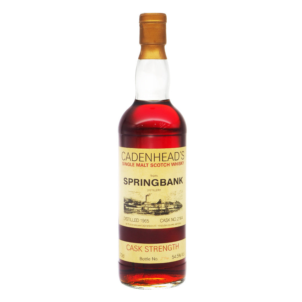 Springbank 1965 Cadenhead - The Whisky Shop Singapore