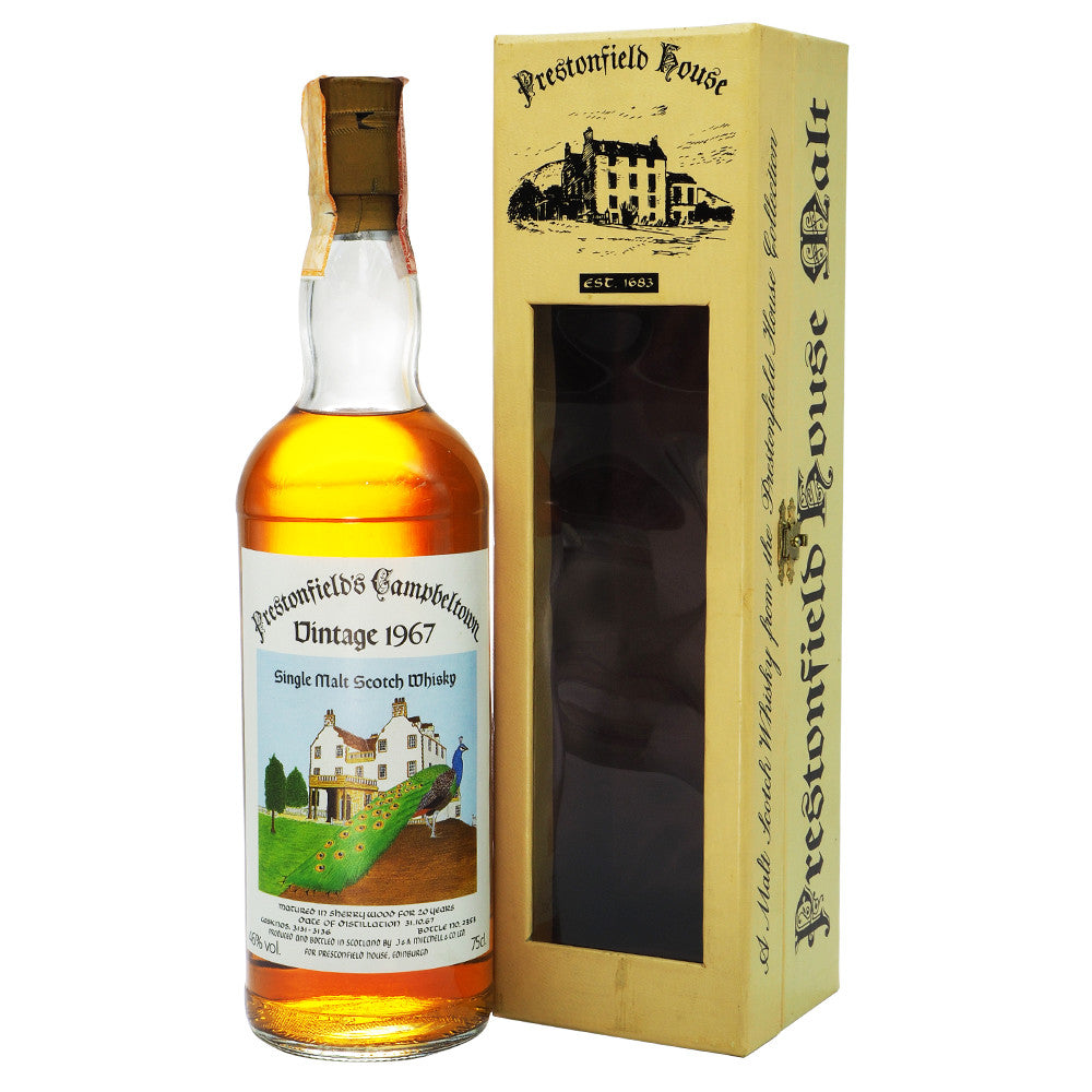 Springbank 1967 20 Years Cadenhead for Prestonfield - The Whisky Shop Singapore