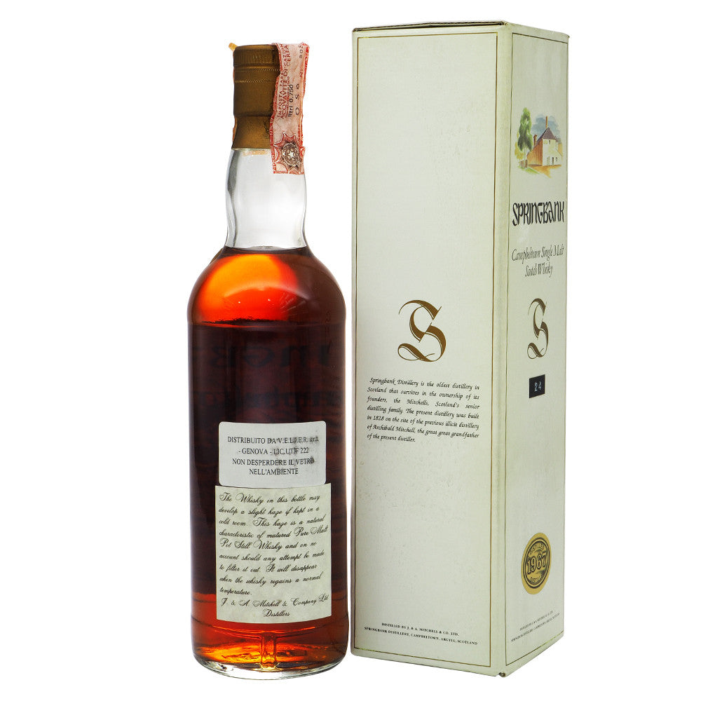 Springbank 1967 24 Years - The Whisky Shop Singapore