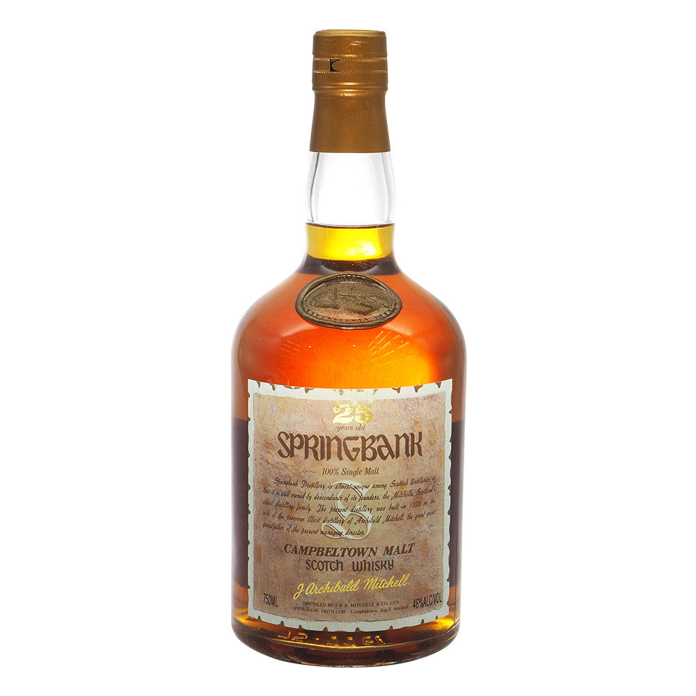 Springbank 25 Years - The Whisky Shop Singapore