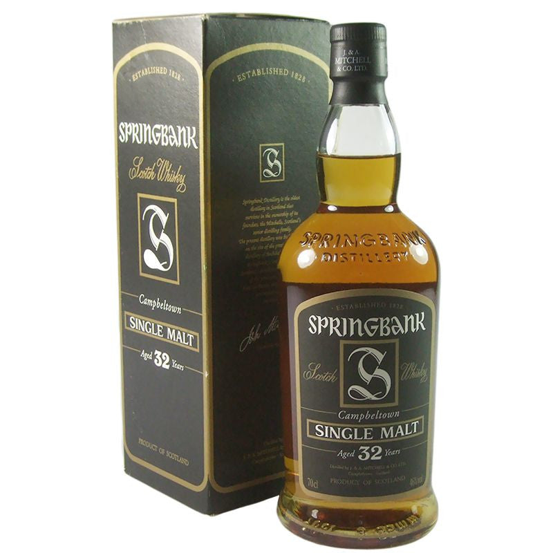 Springbank 1971 32 Years - The Whisky Shop Singapore