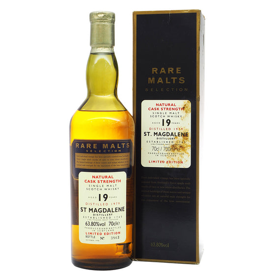 St. Magdalene 1979 19 Years Rare Malts Selection - Bottle No. 3683 - The Whisky Shop Singapore