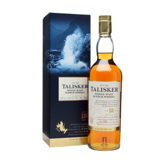 Talisker 18 Years Old - The Whisky Shop Singapore