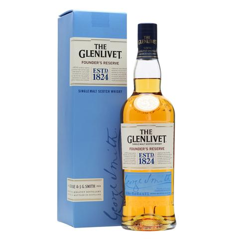 Glenlivet Founders Reserve - The Whisky Shop Singapore