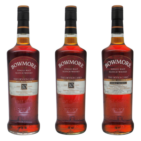Bowmore The Devil's Casks Series - The Whisky Shop Singapore
