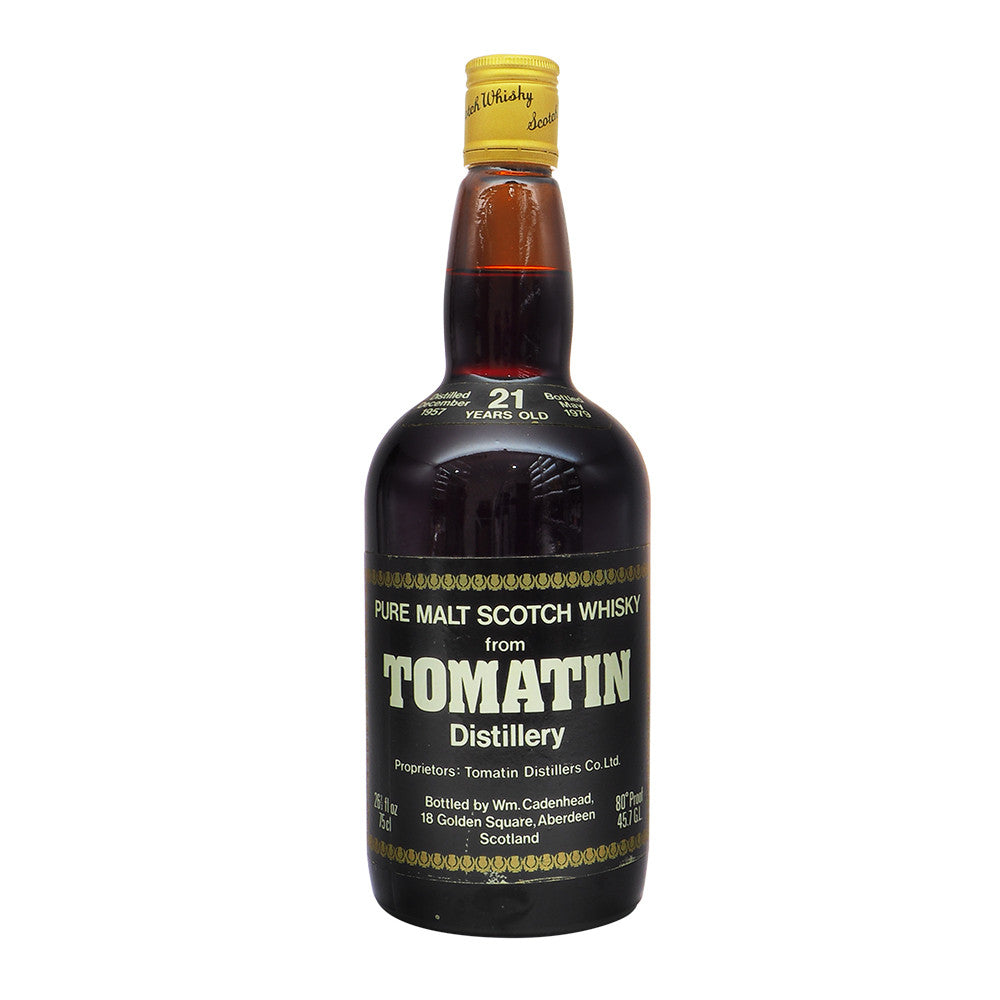 Tomatin 1957 21 Years Cadenhead - The Whisky Shop Singapore