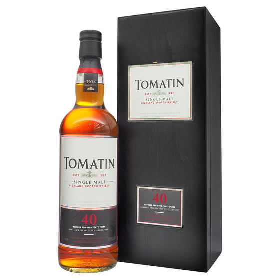 Tomatin 1967 40 Years Limited Release - The Whisky Shop Singapore