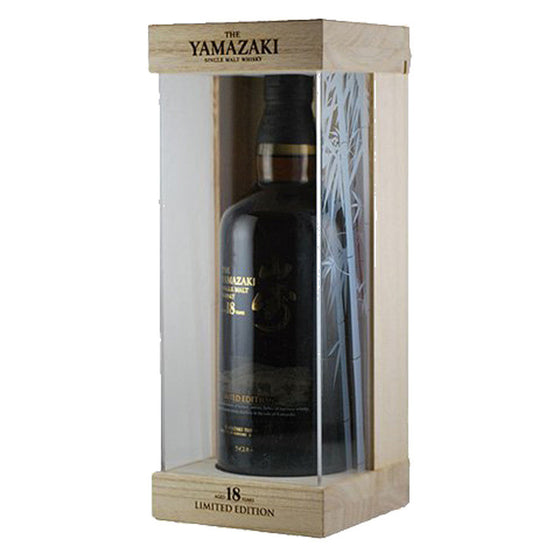 Yamazaki 18 Years Limited Edition FREE whisky bible when spend above $300 - The Whisky Shop Singapore