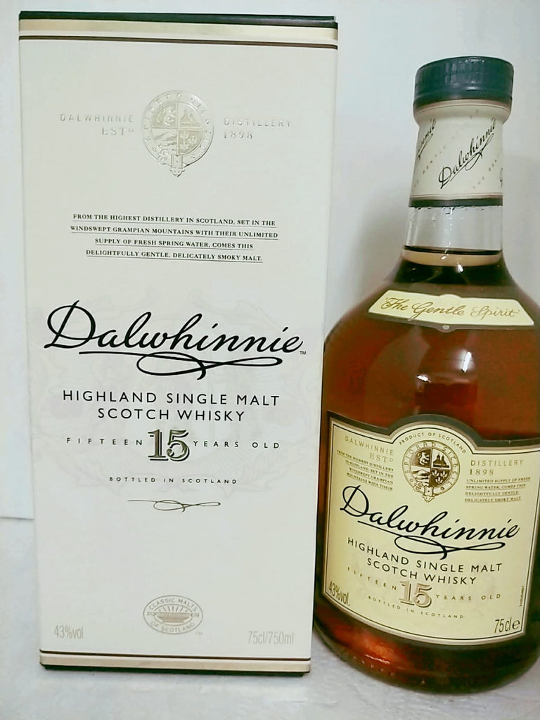 Dalwhinnie 15 Years - The Whisky Shop Singapore