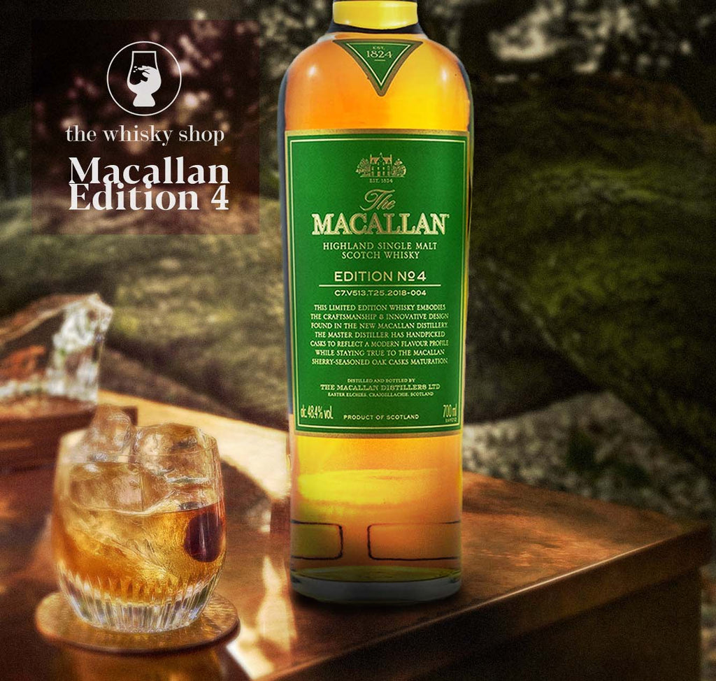 Macallan Edition No. 4 with Free Jim Murray Whisky Bible - The Whisky Shop Singapore