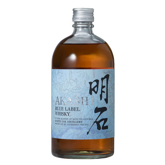 Akashi Blue Japanese Blended Whisky 70cl