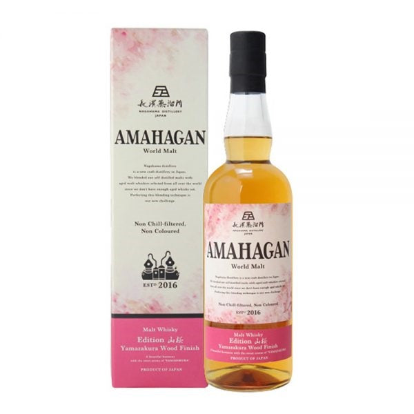 AMAHAGAN World Malt Whisky – Edition No.4 Yamazakura Wood Finish