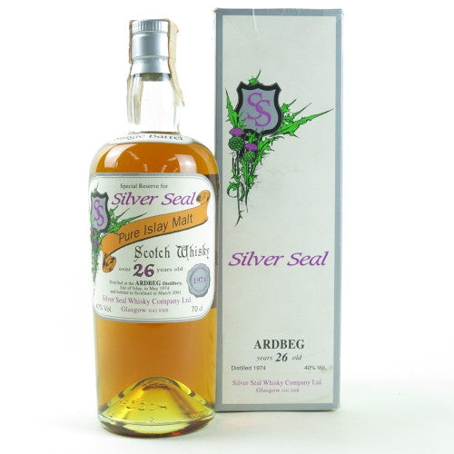 Ardbeg 1974 26 Years Silver Seal - The Whisky Shop Singapore