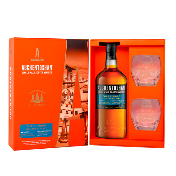 Auchentoshan Three Wood Gift Set