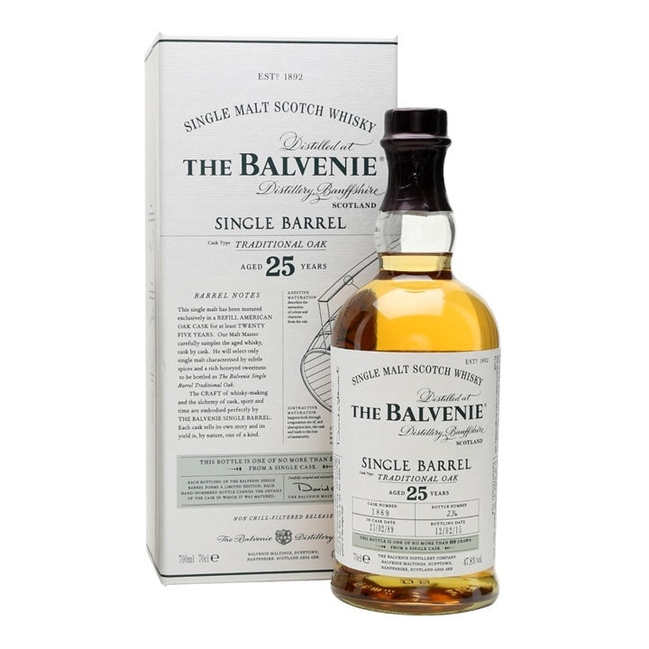 Balvenie 25 Years Single Barrel