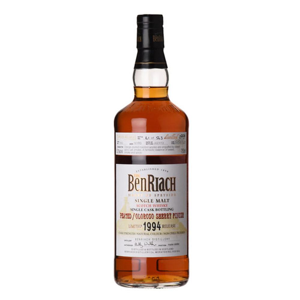 Benriach 1994 19 Years Cask 2995 Premium Spirits Belgium