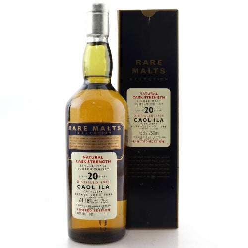 Caol Ila 1975 20 Years Rare Malts Selections - The Whisky Shop Singapore
