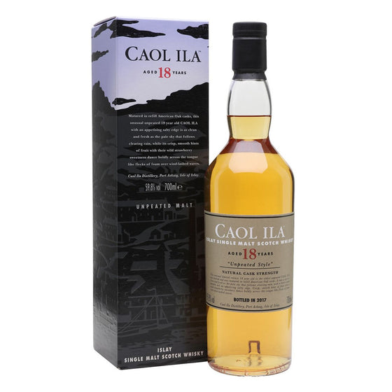 Caol Ila 18 Years Old - Unpeated - Special Release 2017
