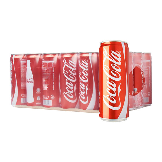 Coca Cola 325ml X 24 Cans - The Whisky Shop Singapore