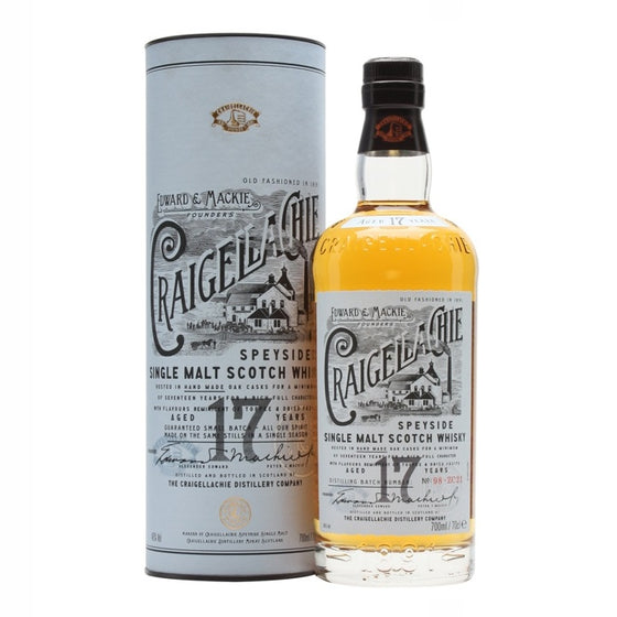 Craigellachie 17 years old