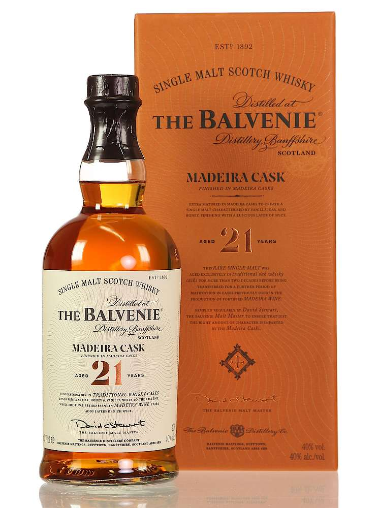 Balvenie 21 Years Madeira Cask - The Whisky Shop Singapore