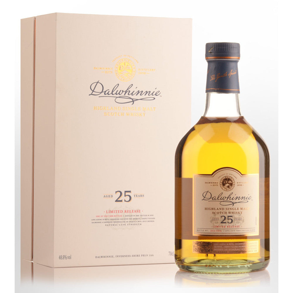 Dalwhinnie 1989 25 Years Special Release 2015 - The Whisky Shop Singapore